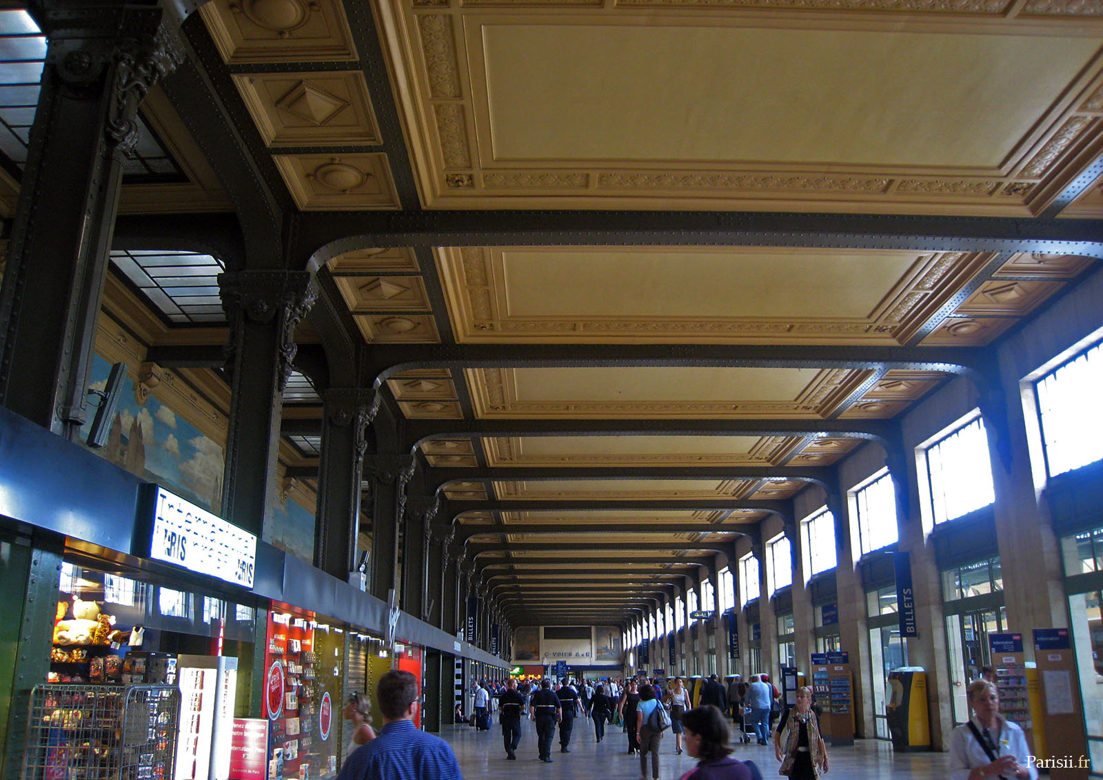 salle des fresques gare de lyon flickr photo sharing. Black Bedroom Furniture Sets. Home Design Ideas