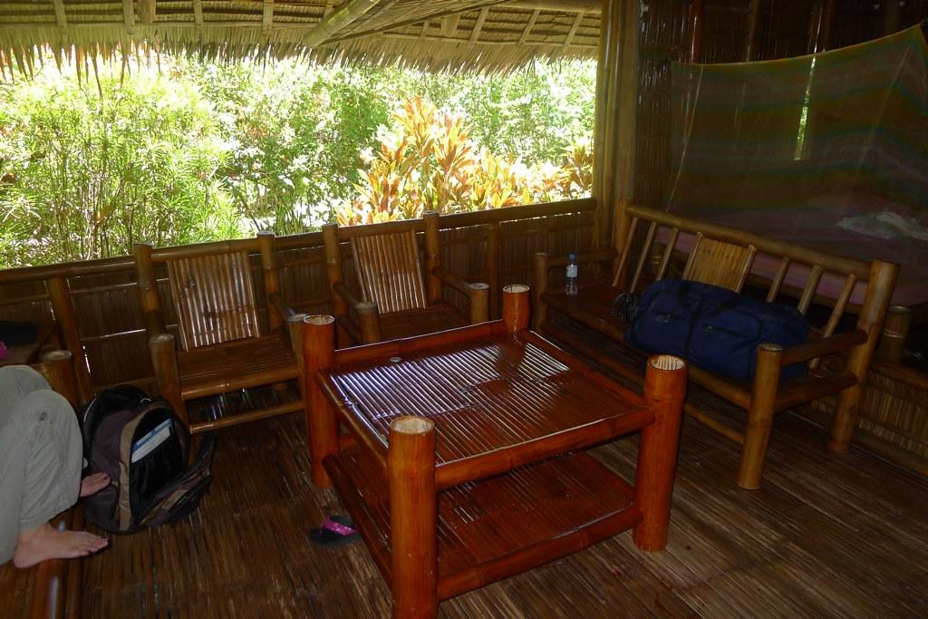 Bamboo Living Room Set | We really felt like we\'d gone nativ ...