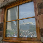 Image of Sagrada Família Schools. barcelona school españa reflection window facade geotagged spain catalonia gaudi catalunya lasagradafamilia cataluña passionfacade espanya geo:lat=41403023 geo:lon=2174080