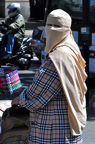 Burberry Burka