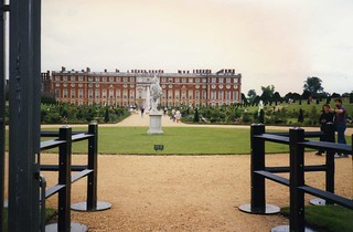 Hampton Court in July 1996