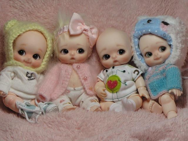 Photo comparative de mes petites, BJD et autres 5835025876_61b763dfce_z
