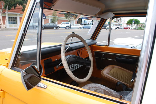 FORD BRONCO INTERIOR