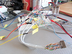 VFD-Tube clock bread board testing