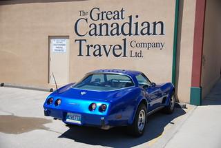 Corvette in Winnipeg