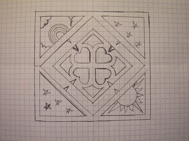 3 Final Design On Graph Paper Flickr Photo Sharing