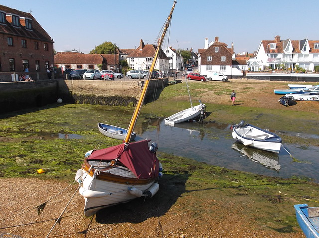 Emsworth Harbour, Fujifilm FinePix JX420