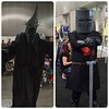 Other great cosplay, The Witch King of Angmar & The Black Knight. #12blaxx #cosplay #losangeles #Comikaze