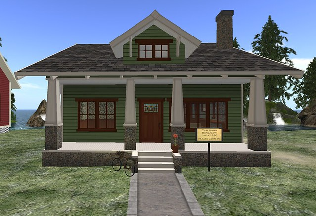 Vmi streetcar suburbs craftsman style bungalow flickr for Craftsman style homes for sale dallas tx
