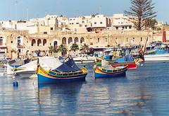 2003.09 MALTE - Marsaxlokk