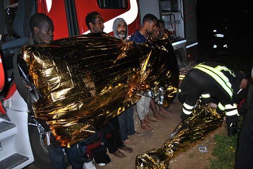 Tragico sbarco a Ragusa: muoiono annegati 13 migranti$