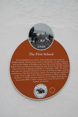 Photo of Brown plaque № 6396