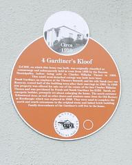 Photo of Brown plaque № 6378