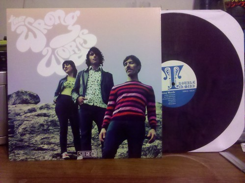 The Wrong Words - S/The LP - Purple Vinyl