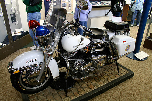 Police Harley Davidson