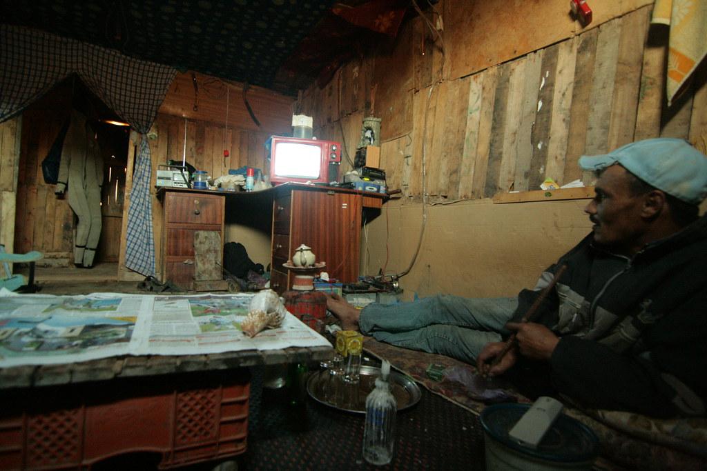 Pescador bereber a la barraca