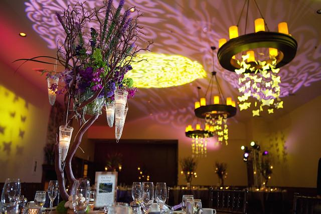 Monet Ballroom Wedding Decor Monet Ballroom at L 39Auberge de Sedona