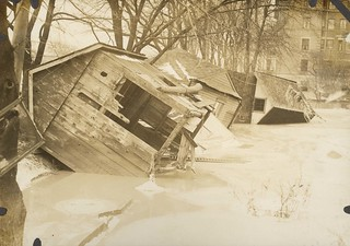 Flood Conditions, Dayton, OH - 1913 Flood