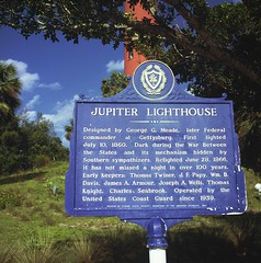 Jupiter Lighthouse Plaque