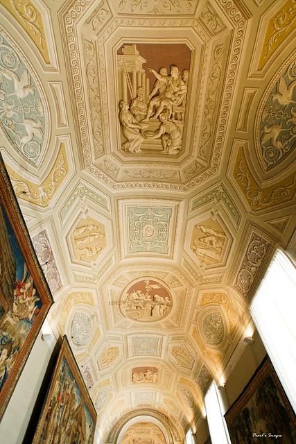 神奇的立體畫天花板