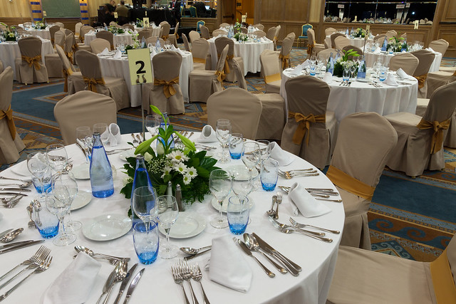 Evento Events Table Set Up Dinner Decoraci N Meeting R
