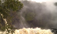 Barron Falls after the cyclone
