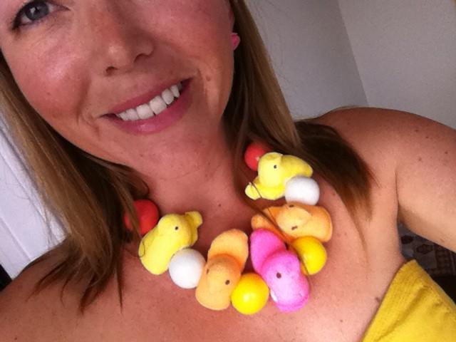 Happy Easter! Is everyone wearing their Peeps?