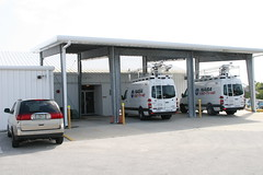 building, garage, vehicle, transport, parking,