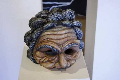 "Homer Flynn ""The Old Woman"" Mask from a live performance at The Fillmore"