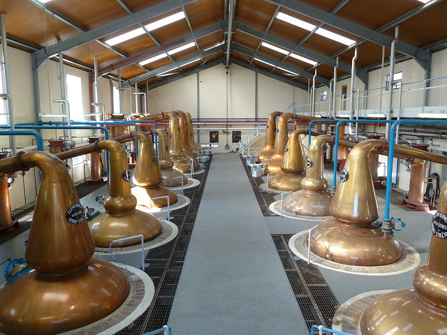 Stills at Glenfiddich Distillery, Scottish Highla