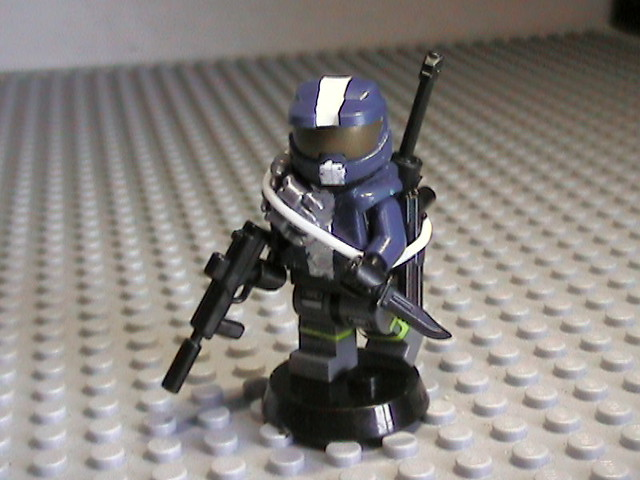 Halo spartan custom lego figure flickr photo sharing - Lego spartan halo ...