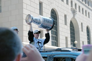 Crosby with the Cup