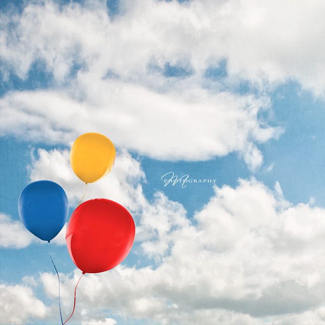 The day of  the  flying balloons and the cotton candy clouds  .