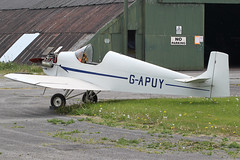 G-APUY - 1963 build   Druine D31 Turbulent, hopefully to take to the air again before too   long