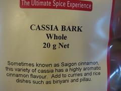 Regency Spices: Cassia Bark