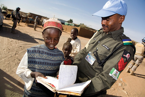 Darfur: an experiment in African peacekeeping