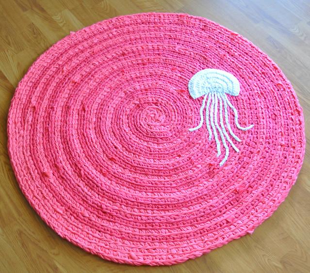 3' Custom Jellyfish Rug Order