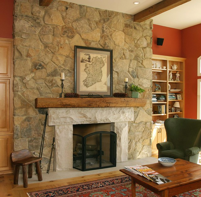 5758229161 163ea019c8 for Field stone fireplace