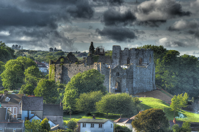Oystermouth Castle Mumbles Swansea | Flickr - Photo Sharing!