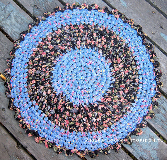 Crochet Round Rag Rug Flickr - Photo Sharing!