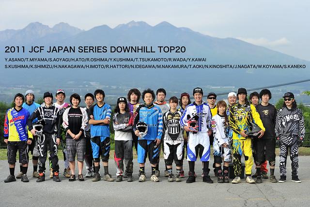 Photo:2011 JCF JAPAN SERIES DOWNHILL TOP20 By N.gawa
