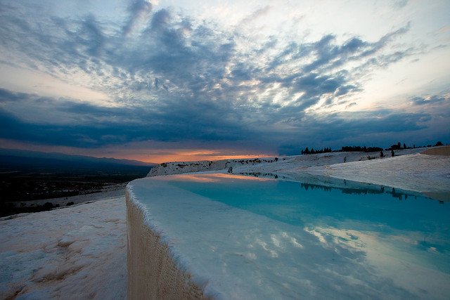 Pamukkale, Turkey by CC user 47096398@N08 on Flickr