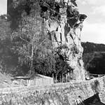 Burg Werfenstein 27. mit Straßenbau