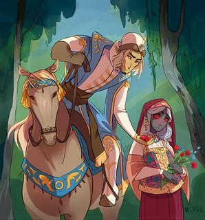Вежка и Хоська - ягодки
