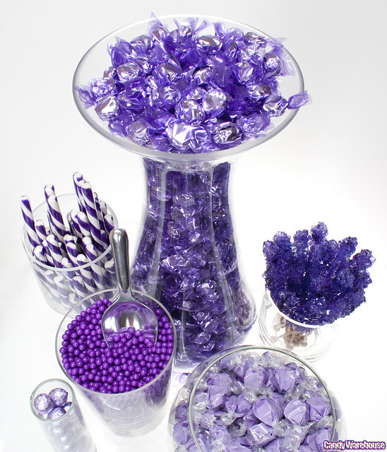 Purple candy buffet flickr photo sharing - Sideboard lila ...