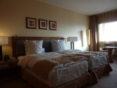 Abuja hotel room - comfy mattresses and beds