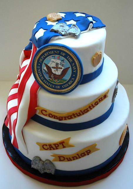 Birthday Cake Design For Seaman : Navy Retirement Flickr - Photo Sharing!
