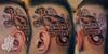 "западная сибирь (west siberia). tattoo on a head. neotraditional <a href=""http://www.mishamack.com/"" rel=""nofollow"">www.mishamack.com/</a>"