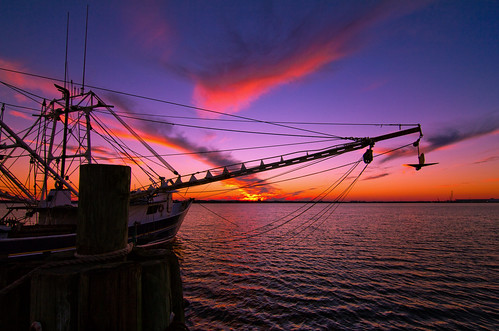 sunset boat florida panamacity