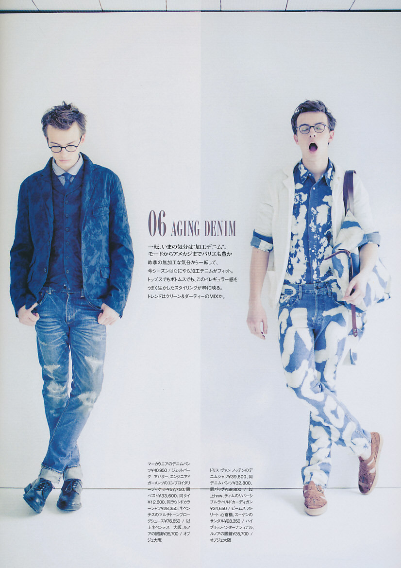 Fashion Style Seven Homme 2011 Spring Style Book